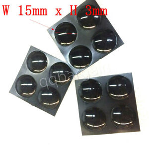 MacBook Rubber Feet With Adhesive For Laptop MacBook Pro Dell HP Toshiba 15x3mm