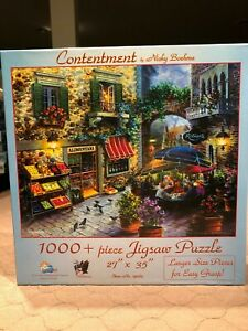 "Suns Out ""Contentment by Nicky Boehme"" 1000 Piece Puzzle  NEW"