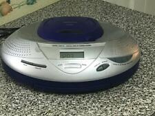 Audiophase - Cd Boombox with Digital Am/Fm Tuner Model Cd03,Tested, Power Cord