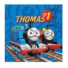 Thomas THE TANK ENGINE Festa di Compleanno 16 tovaglioli tavola BLUE BOY treni Bright