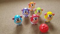 Monkey Bowling Set 1_6 Chicco complete  preschool Educational fun though learnin