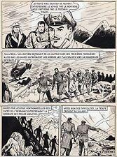 BOB LEGUAY VACANCES MAL COMMENCEES PLANCHE TIM L'AUDACE  PAGE 11 SIGNEE !!!!!