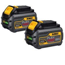 Genuine 2X Dewalt DCB606 Flex-Volt 60v 6.0Ah XR Li-Ion 6ah Lithium Slide Battery