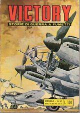 VICTORY STORIE DI GUERRA A FUMETTI ED. ALHAMBRA NUMERO 37