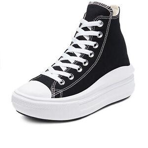 Scarpe Converse Chuck Taylor All Star Move Hi 568497C Nero