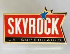 Skyrock LA Super Radio Advertising Pin Badge Rare Vintage (J7)