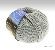 Lana Grossa ALPINA landhauswolle 100gr color color 4 GRIS PLATA