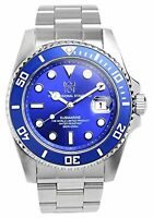 """""""HYAKUICHI 101"""" 200m Scuba Divers Watch Movement Blue Japan F/S w/Tracking# New"""