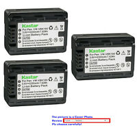 Kastar Replacement Battery Pack for Panasonic VW-VBK180 & HDC-TM90 HDC-TM90GK