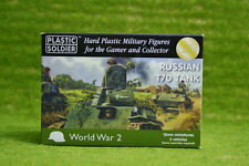Plastic Soldier WW2 Russian T70 Tank 15mm wargames