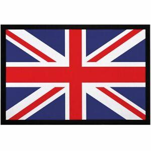 Fußmatte Union Jack Britische Flagge Aufdruck Print Fahne England rutschfest &