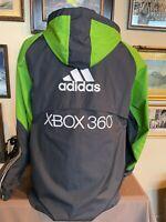 Adidas SEATTLE SOUNDERS FC XBOX 360 Windbreaker MLS SOCCER Hooded Jacket Men's M