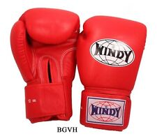 Windy Boxing Gloves Bgvh Red 8,10,12,14,16,18 oz. Muay Thai Sparring Mma K1