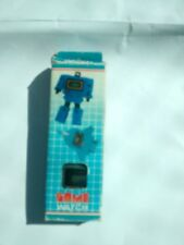 Gray Quartz Airfare Watch Transformers Vintage 1980's Micro Change In Box