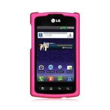 Étuis, housses et coques roses LG Optimus Plus pour téléphone mobile et assistant personnel (PDA) LG