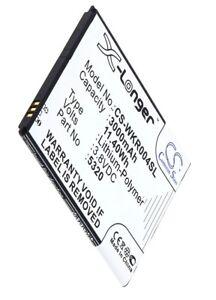 Battery Li-Polymer 3000mAh Type 5260 5320 For Wiko Pulp Fab 0.1oz