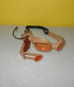2004 Lazer Tag Team Ops Tan Goggles Laser Hasbro Replacement