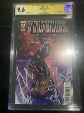 Thanos #15 4th Ptg CGC SS 9.6 By Donny Cates 1st Silver Surfer Black On Cvr 🔥