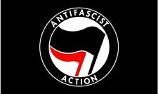 Antifascist Action Flag 5 x 3 FT - Anti Fascist Socialist AFA ANTIFA