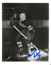 MAURICE RICHARD SIGNED AUTOGRAPHED 8x10 PHOTO MONTREAL CANADIENS BECKETT BAS