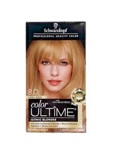 Schwarzkopf Color Ultime Permanent Hair Color 8.0 Medium Blonde
