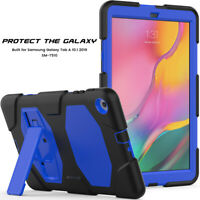 Shockproof Tablet Back Case Cover Shell For Samsung Galaxy Tab A 10.1 T510 T515