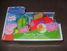 Peppa Pig - Peppa's Car Toaster Playset - New & Boxed