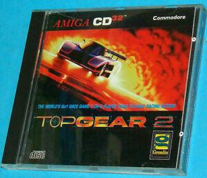Top Gear 2 - Amiga cd 32 - Commodore, Spiel von 1994, neu