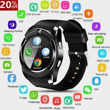 Reloj inteligente con Bluetooth ~ V8 Gps Sim Cámara Impermeable Relojes de pulsera para Android/iOS