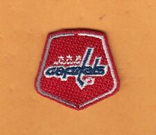 WASHINGTON CAPITALS Small SHIELD PATCH HAT POLO SHIRT IRON or SEW ON UnsoldStock