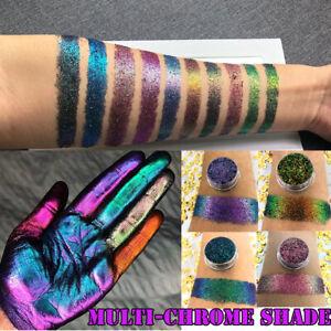 Loose Eye Shadow Multi-Chrome Shade Shifting Pigments Glitter Shiny Eye Shadow