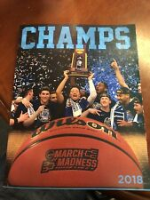 Villanova 2018 College Basketball National Champions Book Highlights & Pictures