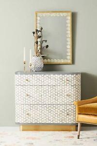 Anthropologie Targua Three-Drawer Dresser - Ex Display - RRP £1598