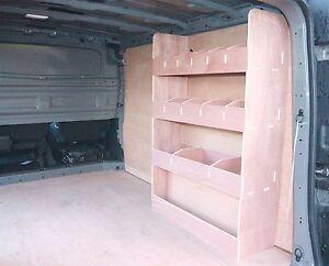 Fiat Talento Van SWB (NEW MODEL) Van Ply Shelving,Van Plywood Racking