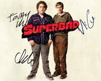 SuperBad signed 8X10 print photo picture poster autograph RP