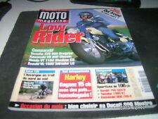 *** Moto Magazine n°149 Yamaha 1200 XJR équipée / Suzuki 1500 Intruder