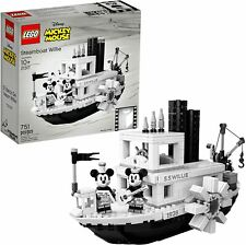 Lego Ideas 21317 Disney Steamboat Willie Building Kit (751 Pieces) - New