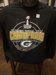 Vintage NFL L Green Bay Packers Super Bowl XLV t-shirt NWT