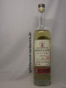 Tequila Ocho 2007 Anejo 100% Puro De Agave Echo en Mexico 0,7 L. 40%
