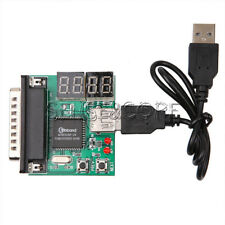 4-Digit Laptop PC Motherboard USB & PCI Analyser Diagnostic Card Tester