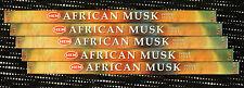 40 Sticks 5 Packs AFRICAN MUSK Exotic Fragrant Scented Incense Insence Bulk HEM