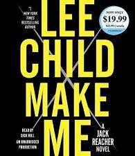 Lee Child (Jack Reacher) MAKE ME Unabridged CD *NEW* FAST Ship!