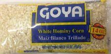 GOYA MAIZ BLANCO TRILLADO - WHITE HOMINY CORN 14 OZ