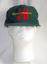 NEW VINTAGE J & B SCOTCH WHISKY HAT SNAP BACK GREEN EMBROIDERED