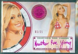 Benchwarmer 2012  Heather Rae Young  Autograph Card [ 1 /21  ]