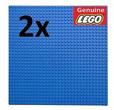GENUINE LEGO - 2X BLUE BUILDING PLATE 32x32 STUDS BASE BOARD/BASEPLATE/MAT/WATER