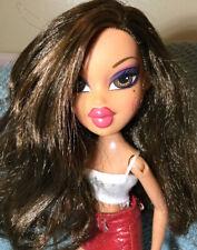 2001 Bratz Doll Yasmin 2 Tone Brown Hair Cute Outfit, Euc