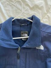 The North Face Fleece Jacket Mens Large Blue Zippered Lightly Used Ski Snowboard