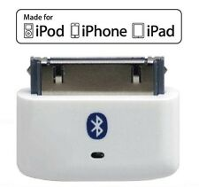 KOKKIA i10s (White) Tiny Bluetooth iPod Transmitter for iPod/iPhone/iPad