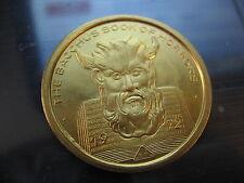1972 book of horrors satan devil Mardi Gras Doubloon Coin new orleans bacchus